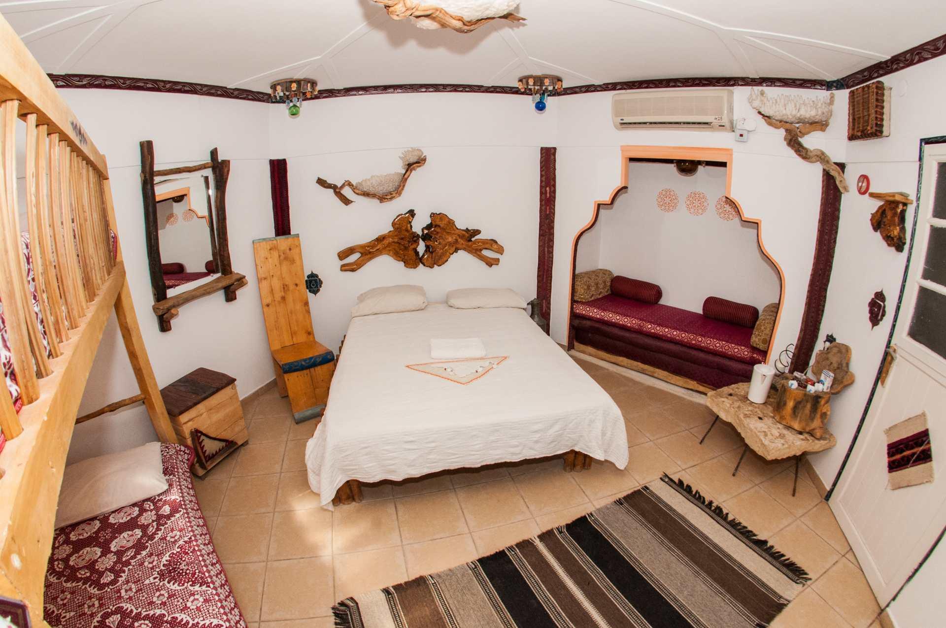 חדר אירוח בכפר הנוקדים
