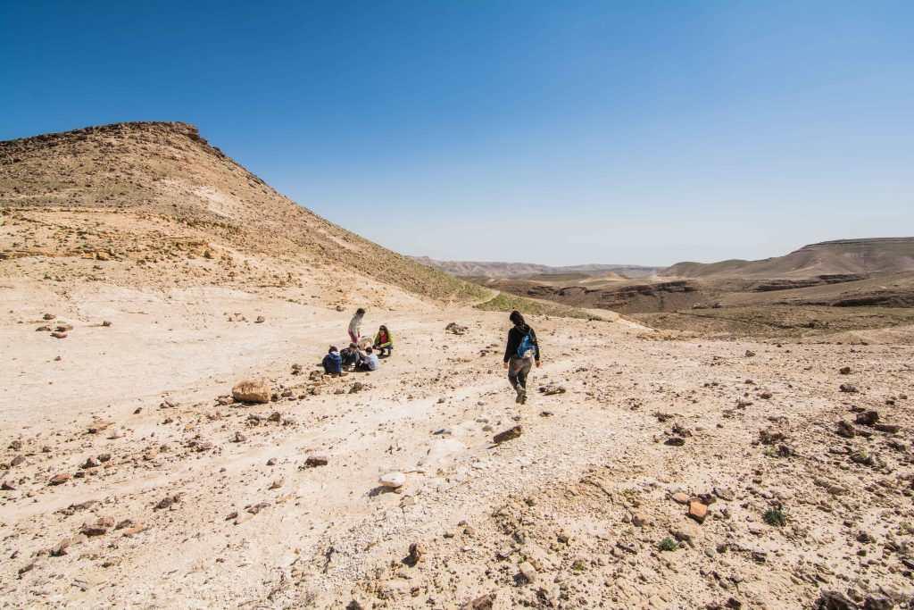 הליכה בדרך הגמלים