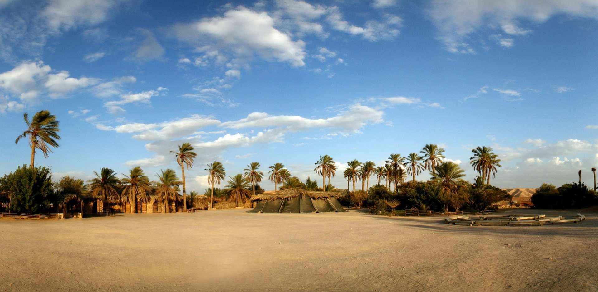 פני הכפר ממערב