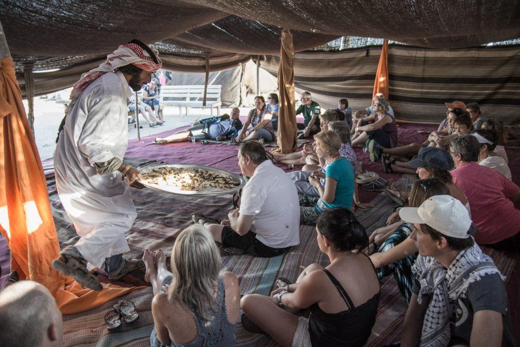 Bedouin Tent Israel