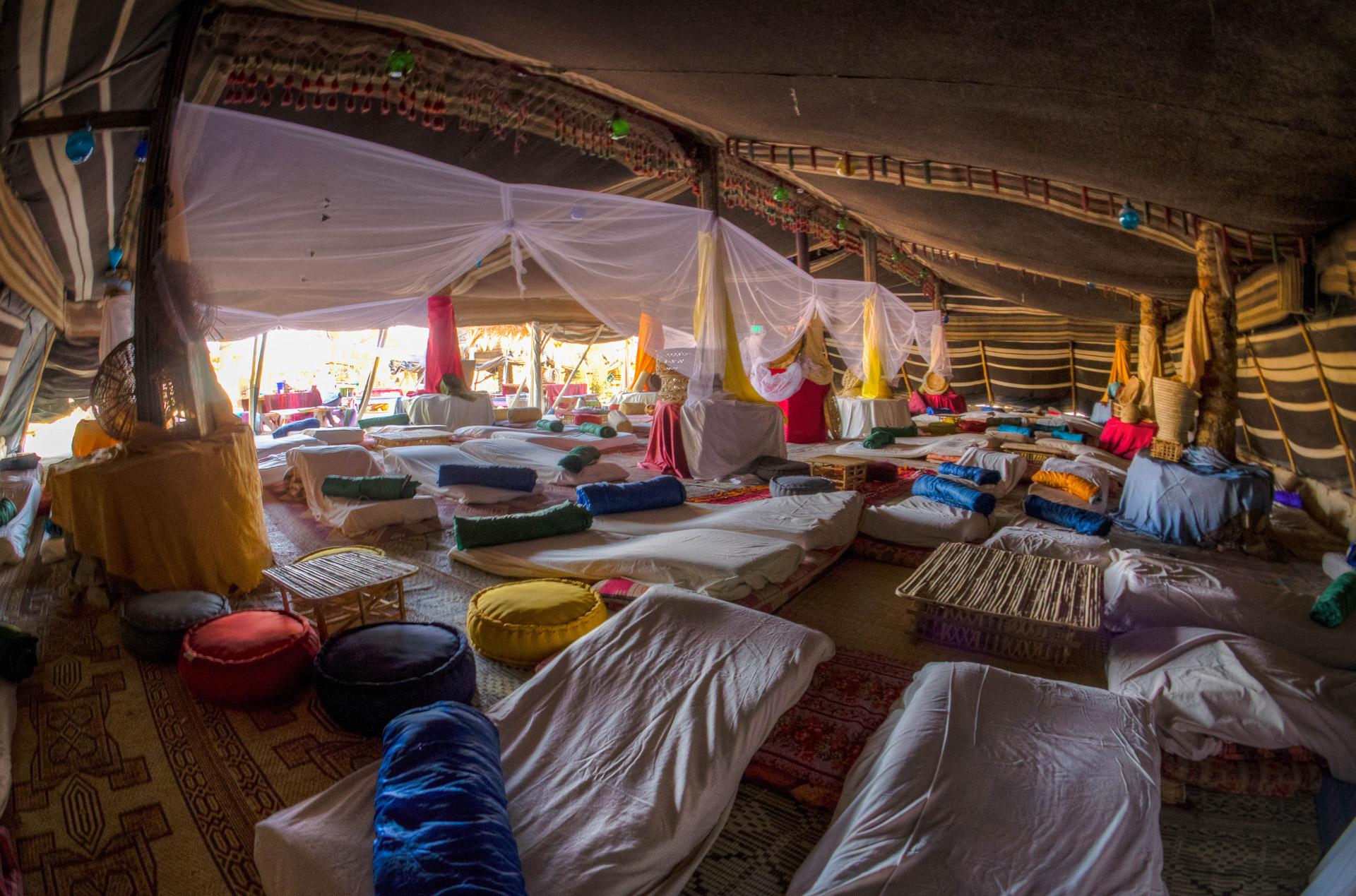 Bedouin Tents in Israel