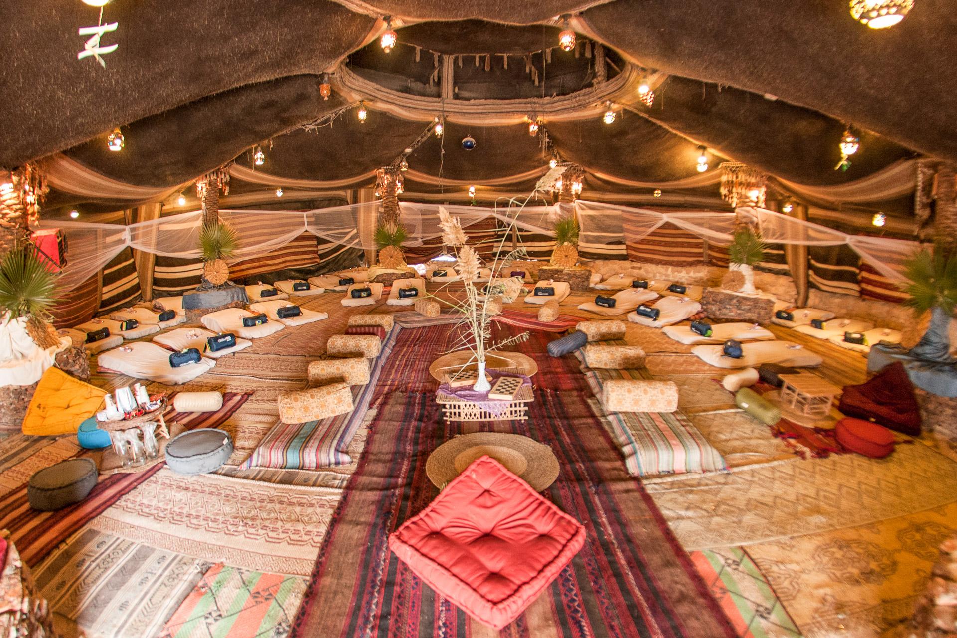 Scheherazade sleeping tent