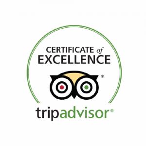 Trip advisor certificate